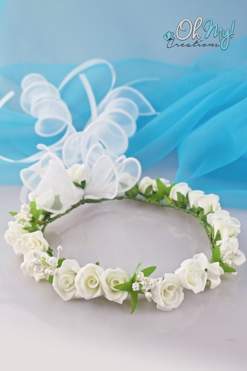 COLOUR FLOWER WREATH 545