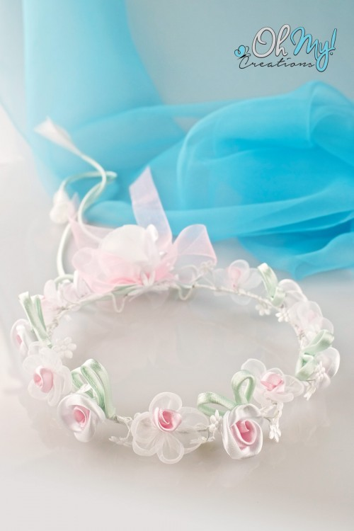 COLOUR FLOWER WREATH 490