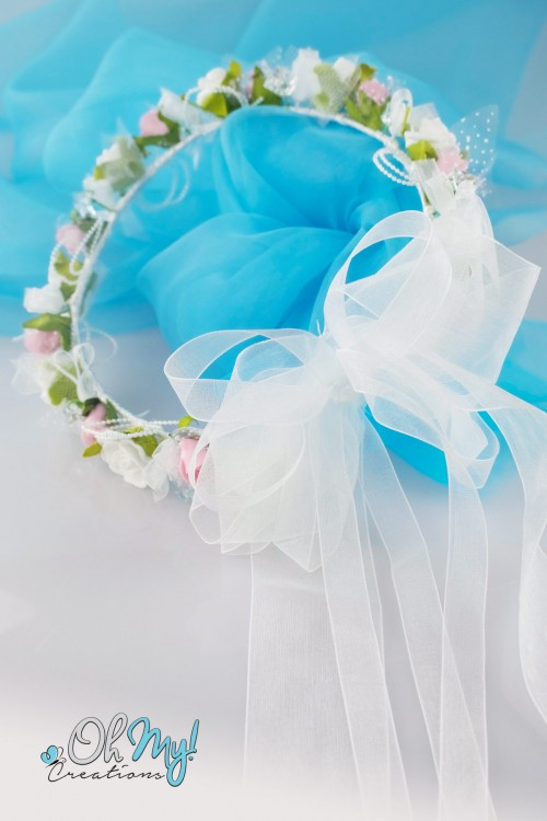 COLOUR FLOWER WREATH 467