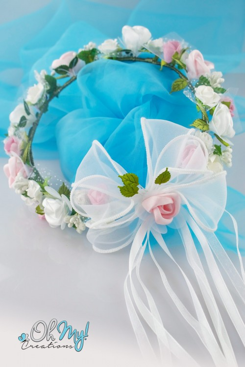 COLOUR FLOWER WREATH 544