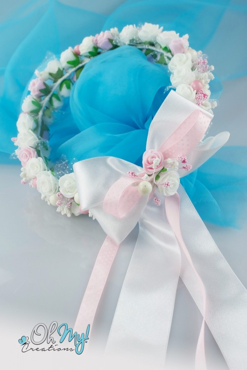 COLOUR FLOWER WREATH 570