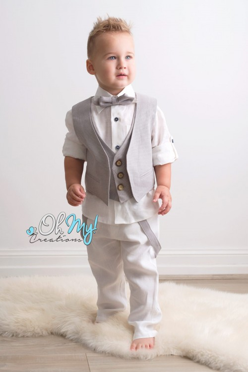 LITTLE BOYS SUITS 0-5Y - Oh My! Creations