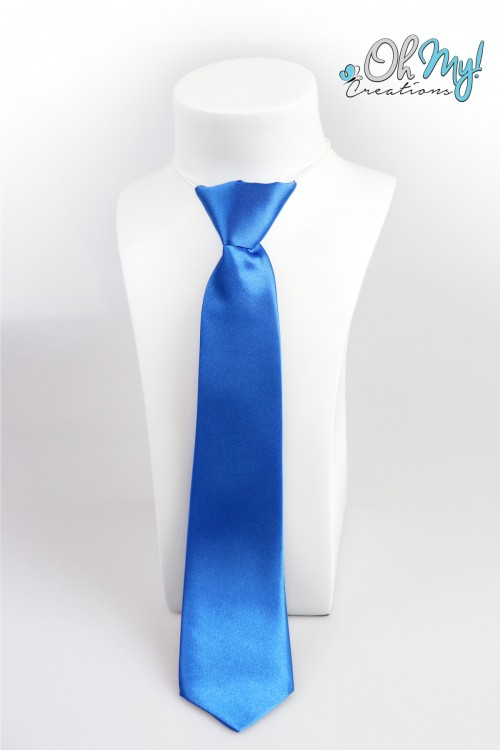 Boys Tie  - Blue