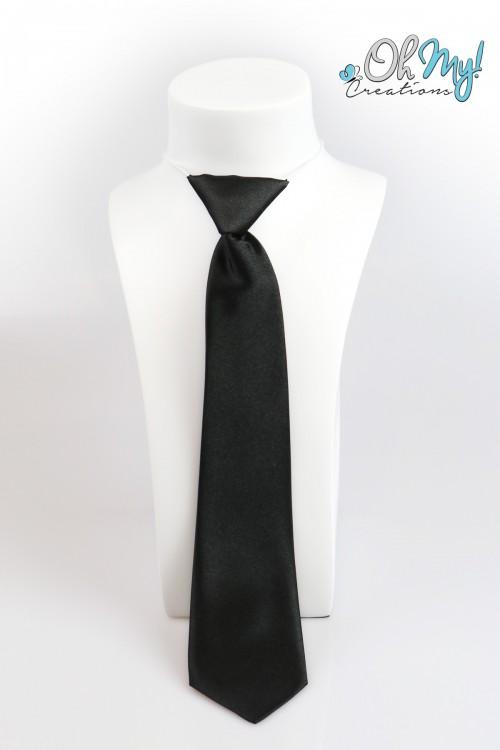 Boys Tie  - Black