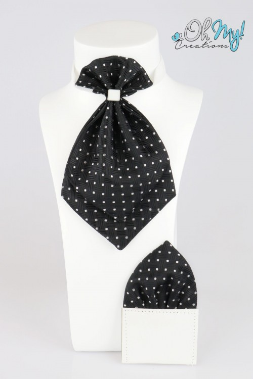BOYS CRAVAT - BLACK