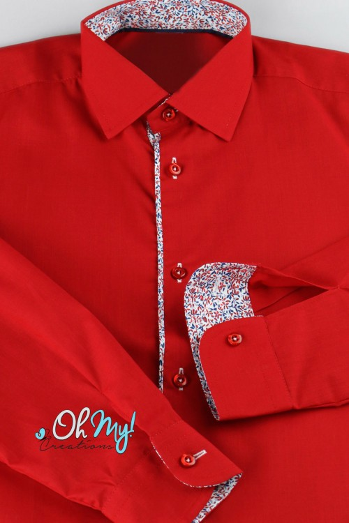 BOYS SHIRT - RED