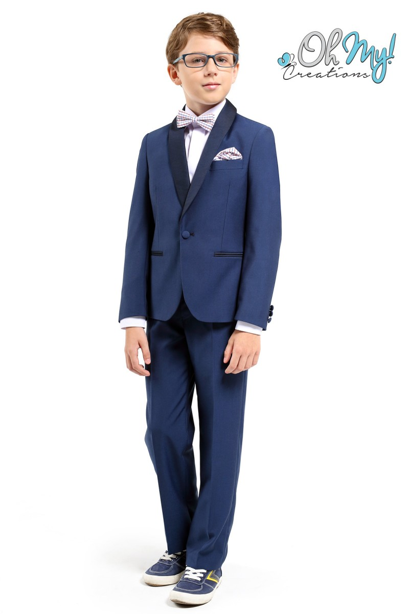 ce7e1200a Boys navy suit | Oh My! Creations