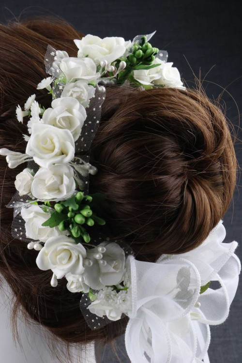 BUN WREATH 152