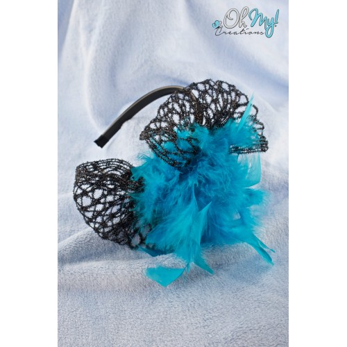 SOLD OUT / HEADBAND FASCINATOR 1704