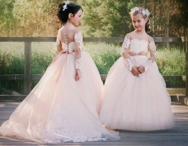 How To Make Your Flower Girl Look Like A Princess